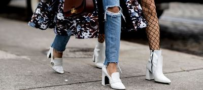 White Shoes Street Style