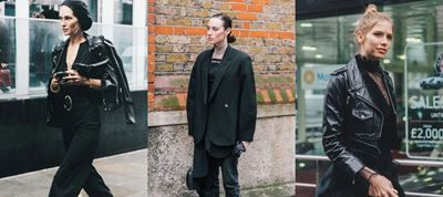 Street style εμπνευση για ένα total black outfit!