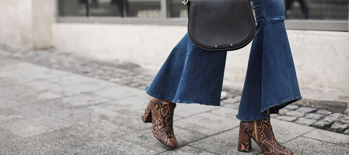 ~Top trend the snake print boots ~